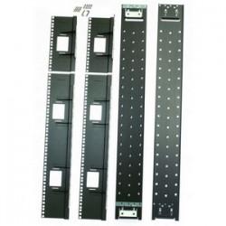 APC / Schneider Electric - AR7508 - APC Recessed Rail Kit - Black