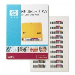 Hewlett Packard (HP) - Q2007A - HP Ultrium 3 RW Bar Code Label Pack (Q2007A)