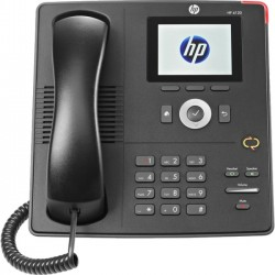 Hewlett Packard (HP) - J9766C - HP Unified 4120 IP Phone - Cable - VoIP - Speakerphone - 2 x Network (RJ-45) - PoE Ports - Color - LLDP-MED, LLDP Protocol(s)