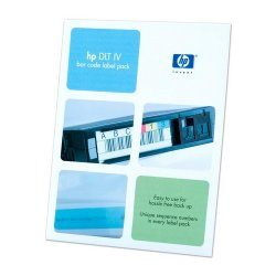 Hewlett Packard (HP) - Q2004A - HP Bar Code Label - 100 / Cartridge - 1 Pack