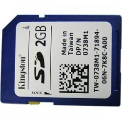 Dell - 342-1628 - 2 GB SD Card for Select Dell PowerEdge Servers M420/ R520/ R910/ T260
