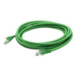 AddOn - ADD-50FCAT6NB-GRN - AddOn 50ft RJ-45 (Male) to RJ-45 (Male) Green Snagless, Non-Booted Cat6 UTP PVC Copper Patch Cable - 100% compatible and guaranteed to work