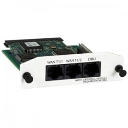 Adtran - 1200872L1 - Adtran NetVanta Dual T1/FT1Network Interface Module - 2 x T1/FT1