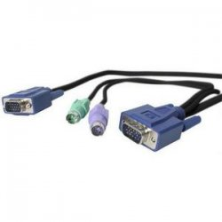 StarTech - SVECON6 - StarTech.com 6 ft 3-in-1 Ultra Thin PS/2 KVM Cable - 6ft