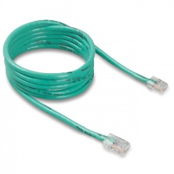 Belkin / Linksys - A3L791-09-GRN - Belkin - Patch cable - RJ-45 (M) to RJ-45 (M) - 9 ft - UTP - CAT 5e - green - for Omniview SMB 1x16, SMB 1x8, OmniView SMB CAT5 KVM Switch