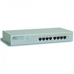 Allied Telesis - AT-FS708-10 - Allied Telesis AT-FS708-10 unmanaged Ethernet Switch - 8 x 10/100Base-TX