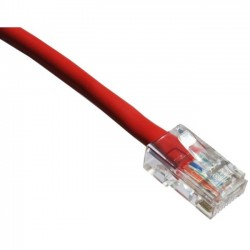 Axiom Memory - C6NB-R1-AX - Axiom Cat.6 UTP Patch Network Cable - Category 6 for Network Device - Patch Cable - 1 ft - 1 x RJ-45 Male Network - 1 x RJ-45 Male Network - Gold Plated Connector - Red