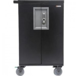 Bretford - TCOREX24 - Bretford CoreX Cart - 2 Shelf - Steel - 33.2 Width x 25.8 Depth x 44.5 Height - For 24 Devices