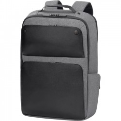 Hewlett Packard (HP) - P6N23UT - HP Executive Carrying Case (Backpack) for 17.3 Notebook - Black - Shoulder Strap, Handle - 16.9 Height x 12.2 Width x 4.9 Depth