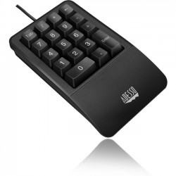 Adesso / ADS Technologies - AKB-618UB - Adesso East Touch Waterproof Ergo Keyboard - Cable Connectivity - USB Interface - 18 Key - Compatible with Mac, PC - Membrane