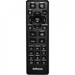 InFocus - HW-NAVIGATOR-4 - InFocus Replacement Remote for Meeting Room Projectors - For Projector - 30 ft Wireless