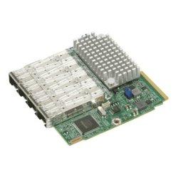 Supermicro - AOC-MTG-I4S - Supermicro AddOn 4-port 10 Gigabit Ethernet Adapter - 4 Port(s) - Optical Fiber
