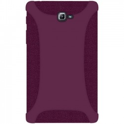 Amzer - 98907 - Amzer Silicone Skin Jelly Case - Purple for Samsung Galaxy Tab A 10.1 2016 SM-T580N - Tablet - Purple - Silicone