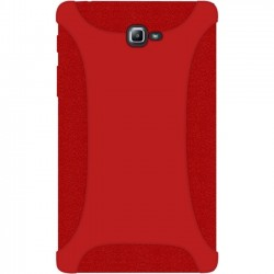 Amzer - 98909 - Amzer Silicone Skin Jelly Case - Red - Tablet - Red - Textured - Silicone
