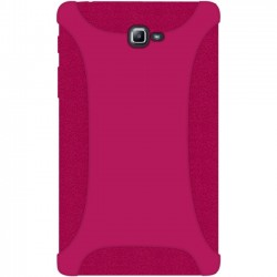 Amzer - 98912 - Amzer Silicone Skin Jelly Case - Hot Pink - Tablet - Hot Pink - Textured - Silicone