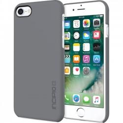 Incipio - IPH-1467-GRY - Incipio Feather Ultra Light Snap-On Case for iPhone 7 - iPhone 7 - Gray - Polycarbonate, Ethylene Vinyl Acetate (EVA)