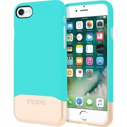 Incipio - IPH-1475-TQC - Incipio Edge Chrome Two Piece Slider Case for iPhone 7 - iPhone 7 - Turquoise, Champagne Chrome - Polycarbonate