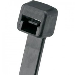 Panduit - PLT3I-M30 - Panduit Pan-Ty PLT3I-M30 Cable Tie - Tie - Black - 1000 Pack - 40 lb Loop Tensile - Nylon 6.6