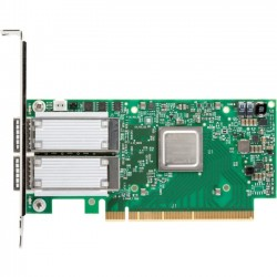 Mellanox Technologies - MCX555A-ECAT - Mellanox ConnectX-5 VPI Adapter Card - PCI Express 3.0 x16 - Optical Fiber