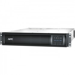 APC / Schneider Electric - SMT3000RMI2UNC - APC by Schneider Electric Smart-UPS 3000VA LCD RM 2U 230V with Network Card - 3000 VA/2700 W - 230 V AC - 2U Rack-mountable