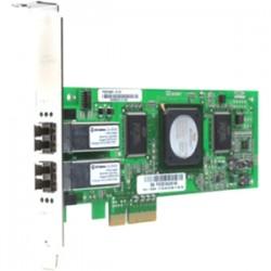 QLogic - QLE2462 - QLogic QLE2462 Fiber Channel Host Bus Adapter - 2 x LC - PCI Express x4 - 4 Gbit/s - 2 x Total Fibre Channel Port(s) - 2 x LC Port(s)