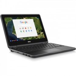 Dell - RH02N - Dell Chromebook 11 3180 - Celeron N3060 / 1.6 GHz - Chrome OS - 4 GB RAM - 32 GB eMMC - 11.6 1366 x 768 (HD) - HD Graphics 400 - Wi-Fi - black - BTS - with 1 Year Dell Mail-In Service