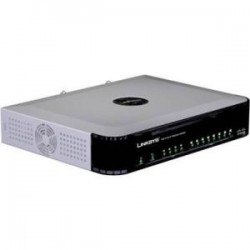 Cisco - SPA8000-G1-RF - Cisco SPA8000 8-Port IP Telephony Gateway - Refurbished - 1 x RJ-45 - 8 x FXS - Fast Ethernet