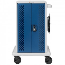 Bretford - CORE36MS-WLSC - Bretford Core CORE36MS Charging Cart - 3 Shelf - 4 Casters - 25.3 Width x 26.5 Depth x 41.4 Height - For 36 Devices
