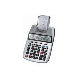 Canon - 1904B001 - Canon P23-DH V Printing Calculator - Dual Color Print - 2.3 lps - Big Display, Auto Power Off - 12 Digits - LCD - Power Adapter Powered - 2.2 x 6.4 x 9.1