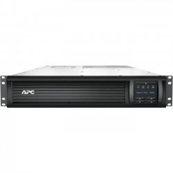 APC / Schneider Electric - SMT3000RM2UNC - APC by Schneider Electric Smart-UPS 3000VA LCD RM 2U 120V with Network Card - 3000 kVA/2700 W - 120 V AC - 2U Rack-mountable - 6 x NEMA 5-15R, 2 x NEMA 5-20R