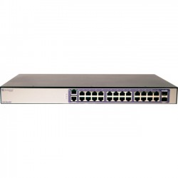 Extreme Networks - 16569 - Extreme Networks 210-24p-GE2 Ethernet Switch - 24 x Gigabit Ethernet Network, 2 x Gigabit Ethernet Expansion Slot - Manageable - Optical Fiber, Twisted Pair - Modular - 3 Layer Supported - Lifetime Limited Warranty