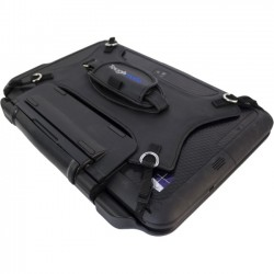 Panasonic - TBCQHDSTP-P - Toughmate Carrying Case (Flip) for Tablet - Vinyl, Steel, Nylon - Hand Strap, Shoulder Strap - 6.5 Height x 10.5 Width x 0.9 Depth