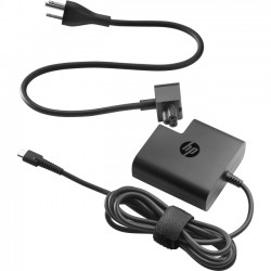 Hewlett Packard (HP) - 1HE08AA#ABA - HP 65W USB-C Power Adapter - 65 W Output Power - 5 V DC Output Voltage - USB