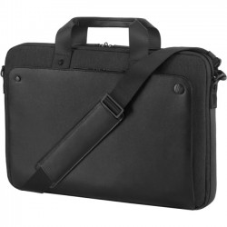 Hewlett Packard (HP) - 1KM15AA - HP Exec 1KM15AA Carrying Case for 15.6 Notebook - Midnight Black - Handle - 12.2 Height x 16.9 Width x 4.9 Depth