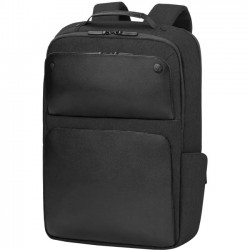 Hewlett Packard (HP) - 1KM16AA - HP Exec 1KM16AA Carrying Case (Backpack) for 17.3 Notebook - Midnight Black - Shoulder Strap, Handle - 16.9 Height x 12.2 Width x 4.9 Depth