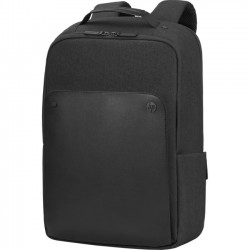 Hewlett Packard (HP) - 1KM17AA - HP Exec 1KM17AA Carrying Case (Backpack) for 15.6 Notebook - Black, Midnight - Handle - 15.8 Height x 12.2 Width x 4.9 Depth