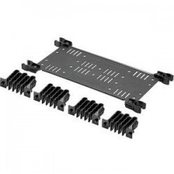 Panduit - FLEX-CM18C - Panduit HD Flex Cable Manager - Cable Manager - Black - 1 Pack