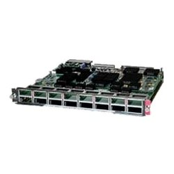 Cisco - 1040218528C - Cisco 16-port 10 Gigabit Ethernet Fiber Module DFC4XL - For Data Networking, Optical NetworkOptical Fiber10 Gigabit Ethernet - 10GBase-X16 x Expansion Slots - X2