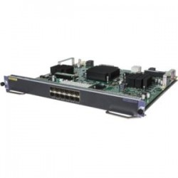 Hewlett Packard (HP) - JH309AR - HP 7500 12-Port 1/10GbE SFP+ EC Module - For Data Networking, Optical NetworkOptical Fiber10 Gigabit Ethernet - 10GBase-X - 10 Gbit/s - 12 x Expansion Slots - SFP+