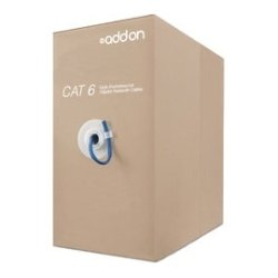 AddOn - ADD-CAT5EBULK1KP-BLUE - AddOn Cat.5e STP Patch Network Cable - Category 5e for Network Device - Patch Cable - 1000 ft - 1 Pack - Bare Wire - Bare Wire - Shielding - Blue