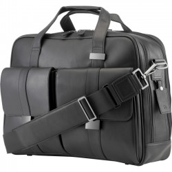 Hewlett Packard (HP) - 1LG83AA - HP Executive Carrying Case for 15.6 Notebook - Black - Leather