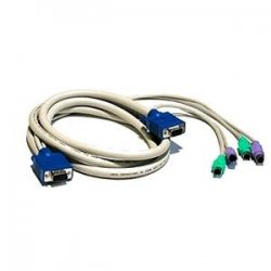 Avocent - CPS2-6A - Avocent KVM Cable - 6ft - Blue, White, Turquoise