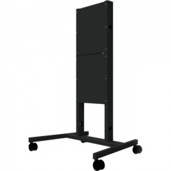 InFocus - INA-CARTBBXL - InFocus Mobile Cart for Vertical Lift Mount (Large) - Up to 85 Screen Support - 396 lb Load Capacity - 90.1 Height x 47.5 Width x 33.4 Depth - Steel - Black