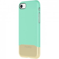 Incipio - IPH-1679-TGD - Incipio EDGE Chrome Two Piece Slider Case for iPhone 8 - iPhone 8, iPhone 7 - Teal, Gold - Polycarbonate - 36 Drop Height