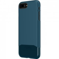Incipio - IPH-1683-NVY - Incipio Edge Chrome Two Piece Slider Case for iPhone 8 Plus - iPhone 8 Plus - Navy - Polycarbonate - 36 Drop Height