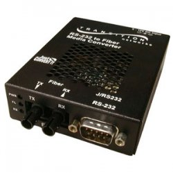 Transition Networks - J/RS232-CF-01-NA - Transition Just Convert-IT Stand-Alone Media Converter - Short-haul modem - serial RS-232 - SC multi-mode / 9 pin D-Sub (DB-9) - up to 1.2 miles - 1300 nm