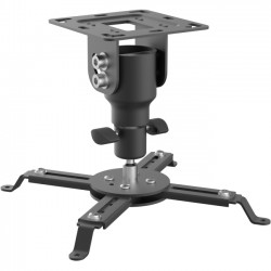 SIIG - CE-MT2812-S1 - SIIG Ceiling Mount for Projector - 44 lb Load Capacity - Black