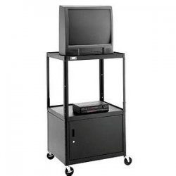 Da-Lite - 4506 - Da-Lite AV6-42 PIXMobile Monitor/Television Carts - 2 x Shelf(ves) - 42 Height x 30 Width x 25 Depth