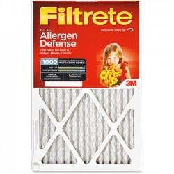 3M - 9812DC-6 - Filtrete 9812DC-6 Micro Allergen Airflow Systems Filter - 24 Height x 24 Width x 1 Depth