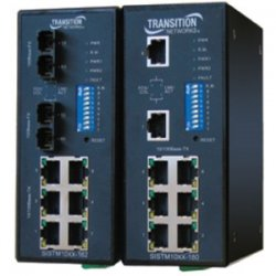 Transition Networks - SISTM1010-180-LRT - Transition Networks Fast Ethernet Switch - 8 Ports - Manageable - 10/100Base-TX - 8 x Network - 2 Layer SupportedLifetime Limited Warranty